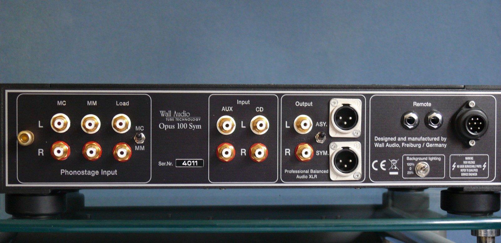 Wall Audio OPUS 100 SYM